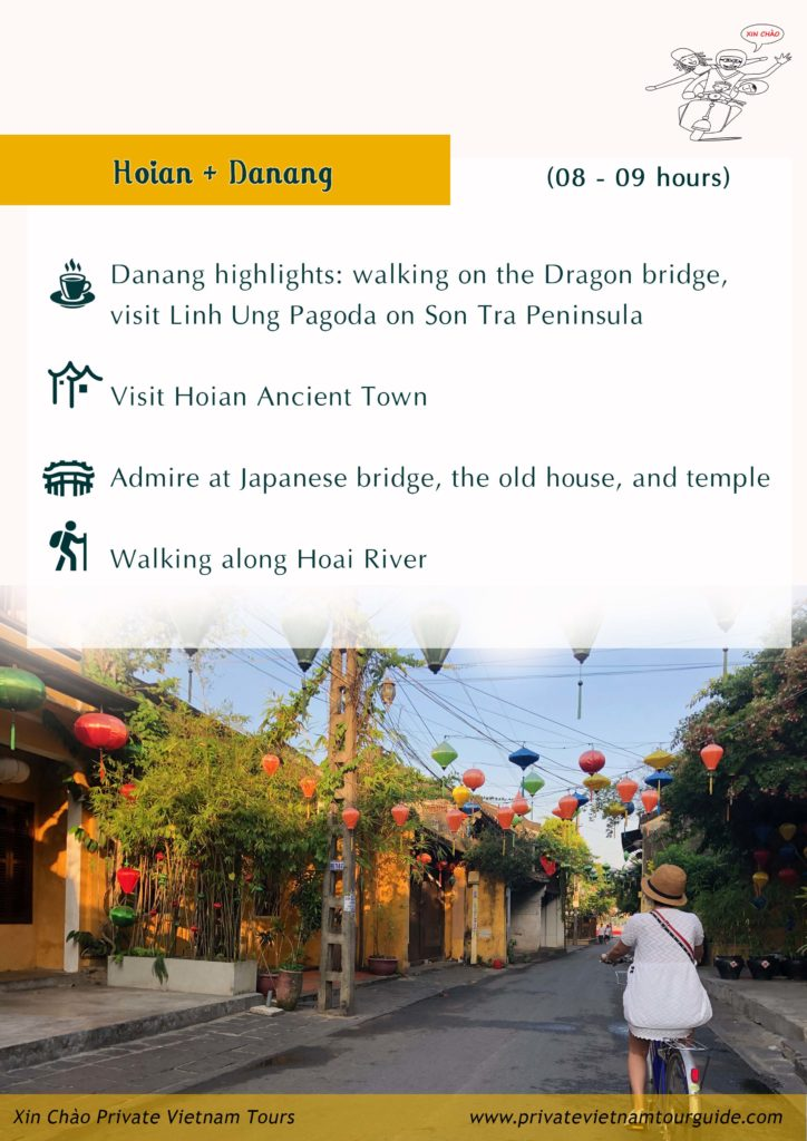 daily Hoian excursion tour with Xin Chao Private Vietnam Tours