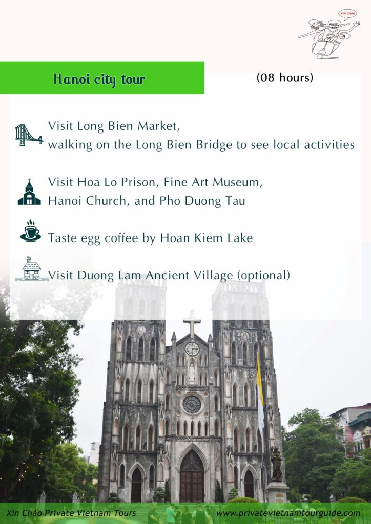 Hanoi one day with Xin Chao Private Vietnam Tours