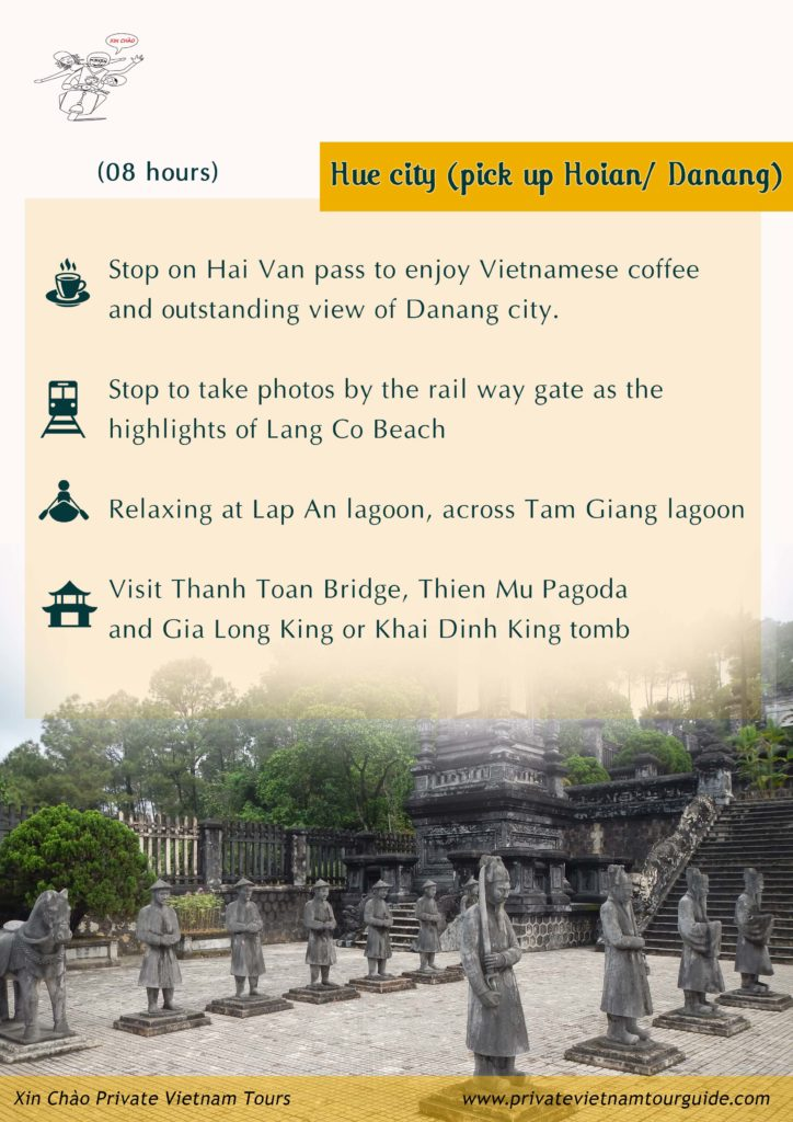 Hue city tour with Xin Chao Private Vietnam Tours