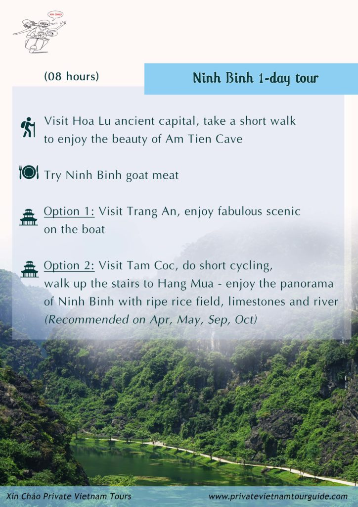 Ninh Binh one day with Xin Chao Private Vietnam Tours