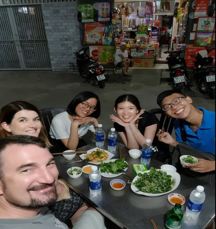 Daisy's first foodie tour with Xin Chao (Nov 2019)