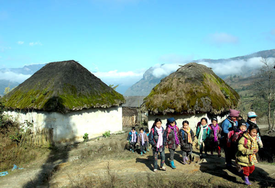 Kin Chu Phin ancient village (Lao Cai)