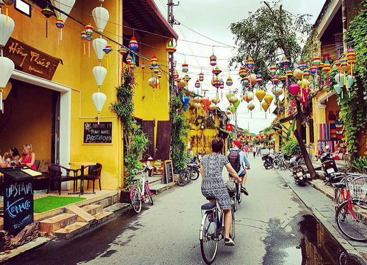 Biking in Hoian