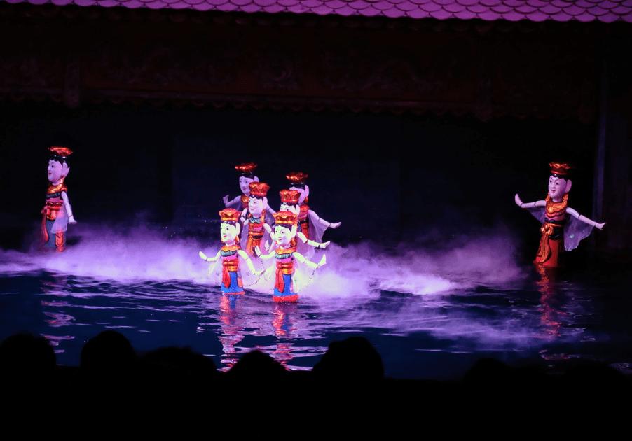 Vietnamese water puppets